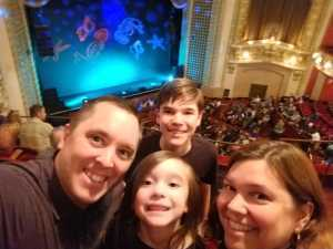 Jason attended Underwater Bubble Show on Apr 20th 2019 via VetTix