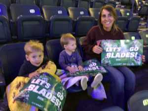 John attended Florida Everblades vs. Jacksonville Icemen - ECHL - 2019 Kelly Cup Playoffs - Game 1 on Apr 11th 2019 via VetTix