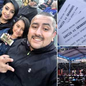 Mr. Razo  attended Premier Boxing Champions Presents Danny Garcia vs. Adrian Granados on Apr 20th 2019 via VetTix