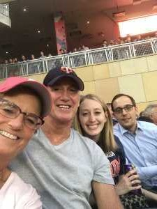 Jim Lynn and family  attended Minnesota Twins vs. Boston Red Sox - MLB on Jun 18th 2019 via VetTix