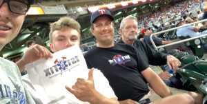 Dave attended Minnesota Twins vs. Boston Red Sox - MLB on Jun 18th 2019 via VetTix