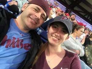 Jonathan attended Philadelphia Phillies vs. New York Mets - MLB on Apr 15th 2019 via VetTix