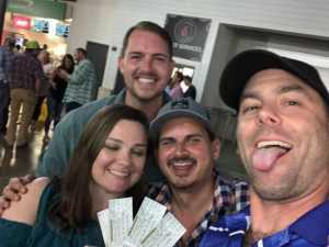 Brandon attended Hootie and the Blowfish With Special Guest Sheryl Crow on Apr 12th 2019 via VetTix