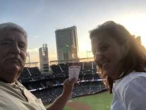 Brian attended San Diego Padres vs. Cincinnati Reds - MLB on Apr 18th 2019 via VetTix
