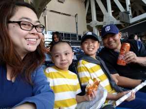 Allan attended San Diego Padres vs. Cincinnati Reds - MLB on Apr 18th 2019 via VetTix