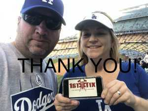 Jonathan attended Los Angeles Dodgers vs. Milwaukee Brewers - MLB on Apr 12th 2019 via VetTix