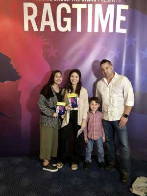 Jose attended Ragtime Performed by Theatre Under the Stars on Apr 18th 2019 via VetTix