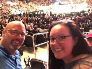 Lacey attended UFC 236 - Mixed Martial Arts on Apr 13th 2019 via VetTix