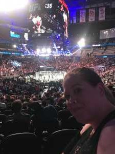 Jessica attended UFC 236 - Mixed Martial Arts on Apr 13th 2019 via VetTix