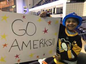 Jennifer F. attended Rochester Americans vs Toronto Marlies - Playoffs - North Division Semifinals - Game One - AHL on Apr 19th 2019 via VetTix