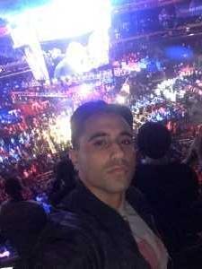Ahmed attended Top Rank Boxing: Terence Crawford vs. Amir Khan - Boxing on Apr 20th 2019 via VetTix