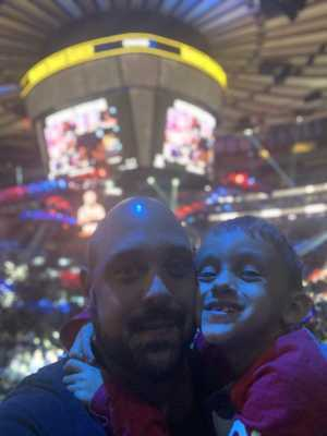 Anthony attended Top Rank Boxing: Terence Crawford vs. Amir Khan - Boxing on Apr 20th 2019 via VetTix
