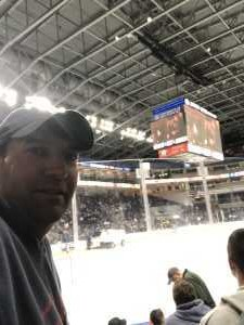 Paul attended 2019 Calder Cup First Round Home Game 2 Sound Tigers vs. Hershey Bears - Minor League on Apr 20th 2019 via VetTix