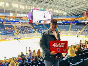 Erik (Current LEO) attended 2019 Calder Cup First Round Home Game 2 Sound Tigers vs. Hershey Bears - Minor League on Apr 20th 2019 via VetTix
