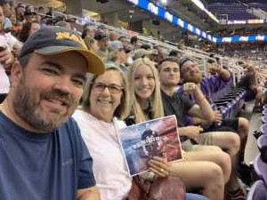 Jack attended Arizona Rattlers vs. San Diego Strike Force - IFL on Jun 15th 2019 via VetTix