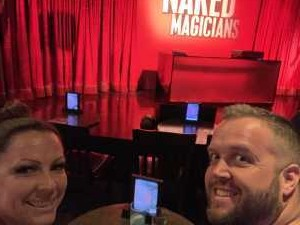 Ryan attended The Naked Magicians - 21+ on Apr 20th 2019 via VetTix