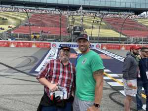 Jerry attended Firekeepers Casino 400 - Monster Energy NASCAR Cup Series on Jun 9th 2019 via VetTix