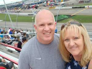 The Keegan's attended Firekeepers Casino 400 - Monster Energy NASCAR Cup Series on Jun 9th 2019 via VetTix