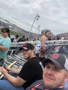 Chris attended Firekeepers Casino 400 - Monster Energy NASCAR Cup Series on Jun 9th 2019 via VetTix