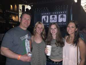 William attended Kenny Chesney: Songs for the Saints Tour - Standing Room Only on Apr 19th 2019 via VetTix