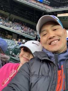 Casey attended Colorado Rockies vs. San Diego Padres - MLB on May 10th 2019 via VetTix