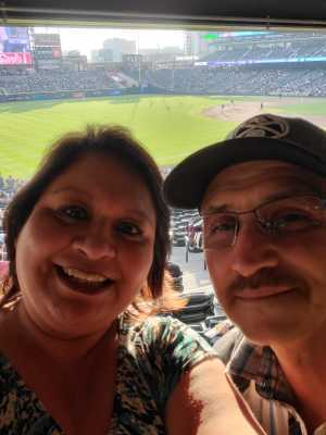 Celia Ornelas attended Colorado Rockies vs. San Diego Padres - MLB on May 10th 2019 via VetTix