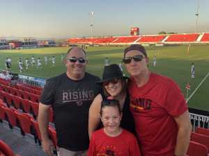 Ryan attended Phoenix Rising vs Orange County SC - USL on Jun 15th 2019 via VetTix