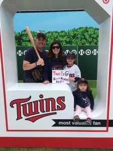 Glenn attended Minnesota Twins vs. Detroit Tigers - MLB on May 12th 2019 via VetTix