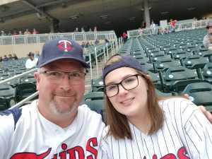 Gregory attended Minnesota Twins vs. Detroit Tigers - MLB on May 12th 2019 via VetTix