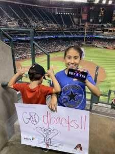 Ed attended Arizona Diamondbacks vs. Pittsburgh Pirates - MLB on May 13th 2019 via VetTix