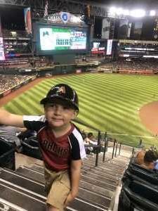 Paul attended Arizona Diamondbacks vs. Pittsburgh Pirates - MLB on May 13th 2019 via VetTix