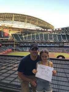 Justin attended Arizona Diamondbacks vs. Pittsburgh Pirates - MLB on May 13th 2019 via VetTix