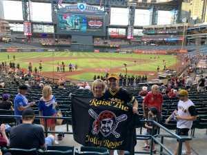 Greg attended Arizona Diamondbacks vs. Pittsburgh Pirates - MLB on May 13th 2019 via VetTix