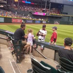 Colton attended Arizona Diamondbacks vs. Pittsburgh Pirates - MLB on May 13th 2019 via VetTix
