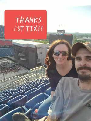 Lisa attended Eric Church: Double Down Tour - Country on May 25th 2019 via VetTix