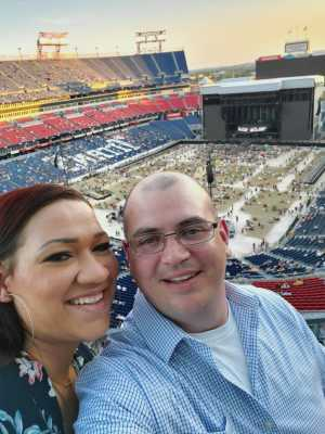 Seth attended Eric Church: Double Down Tour - Country on May 25th 2019 via VetTix