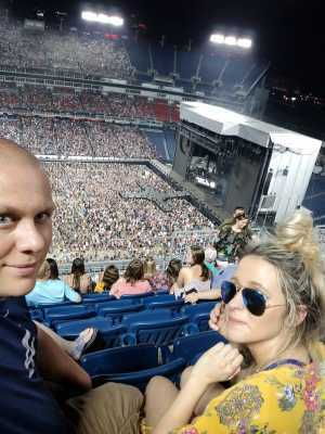 Jerry attended Eric Church: Double Down Tour - Country on May 25th 2019 via VetTix