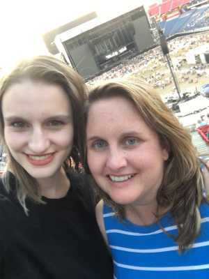 Alex attended Eric Church: Double Down Tour - Country on May 25th 2019 via VetTix
