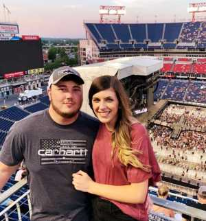 Wayne attended Eric Church: Double Down Tour - Country on May 25th 2019 via VetTix