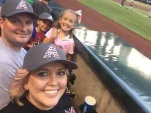 Robert attended Arizona Diamondbacks vs. New York Mets - MLB - First Responders Thank You on May 31st 2019 via VetTix