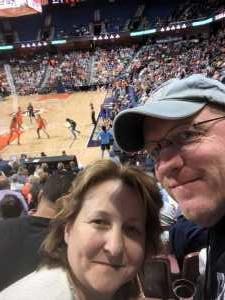 Richard attended Connecticut Sun vs. Atlanta Dream - WNBA - Basketball on Jun 21st 2019 via VetTix
