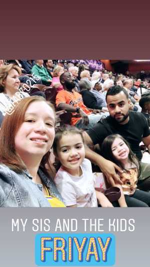 Raynni attended Connecticut Sun vs. Atlanta Dream - WNBA - Basketball on Jun 21st 2019 via VetTix