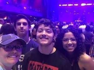Stacie attended Lil Pump & Lil Skies on May 14th 2019 via VetTix