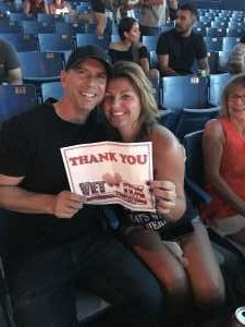 Chad attended Brad Paisley Tour 2019 - Country on May 31st 2019 via VetTix