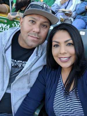 Antonio attended Oakland Athletics vs. Houston Astros - MLB on May 31st 2019 via VetTix