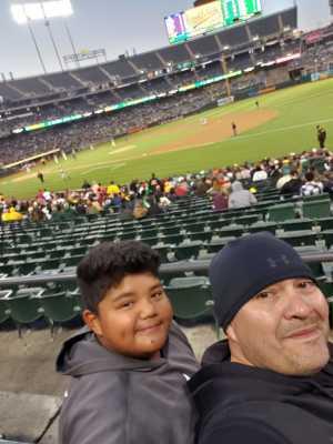 Louis attended Oakland Athletics vs. Houston Astros - MLB on May 31st 2019 via VetTix