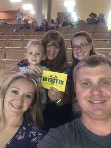 TJ  attended 143rd Silver Spurs Rodeo - Friday Only on May 31st 2019 via VetTix
