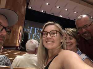 Jeffrey attended The Texas Tenors - Friday on May 17th 2019 via VetTix