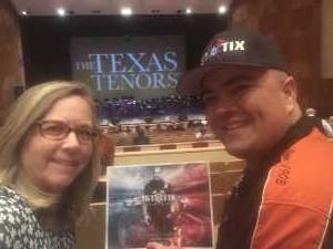 Jack attended The Texas Tenors - Friday on May 17th 2019 via VetTix