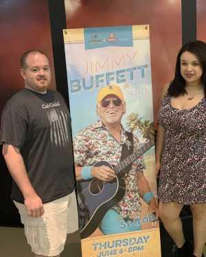 Ryan attended Jimmy Buffett - Pop on Jun 6th 2019 via VetTix